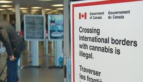 Crossing Border with cannabis