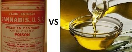 Tincture vs Oil